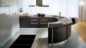 modern curved kitchen island. Kitchen Sparkling Modern Kitchens Furnished With Glamorous Curved Island C