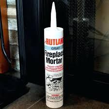quikrete fireplace mortar mix repair