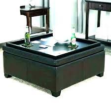 round coffee table trays storage ottoman coffee table with trays ottoman coffee table with tray marvelous