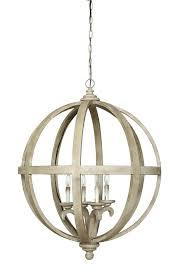 wooden sphere chandelier round wood metal sphere chandelier