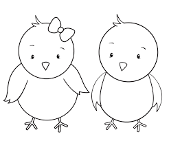 Free Printable Easter Baby Chick Coloring Pages Printable Coloring