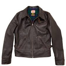 Pike Brothers 1932 Roadster Jacket Black Leather The
