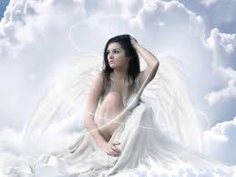 Image result for Angel, sitting by the door