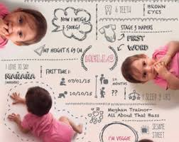 Baby Infographic Etsy
