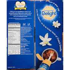 2,000 calories a day is used for general nutrition advice. International Delight French Vanilla Single Serve Coffee Creamers 192 Count Pack Of 1 Shelf Stable Non Dairy Flavored Coffee Creamer Great For Home Use Offices Parties Or Group Events Amazon Com Grocery Gourmet Food