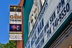 the gem theater man