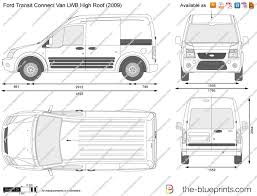 ford transit connect van lwb high roof