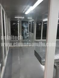 304 Stainless Steel Class 100 PVC Soft Wall Clean Booth For Class 100 Clean Room Design