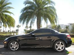 2005 Obsidian Black Metallic Mercedes-Benz SLK 350 Roadster ...