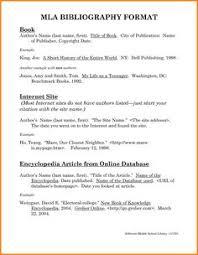 bibliography mla format   bibliography format SlideShare