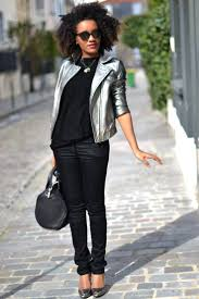 Mercredie Blog Mode Fashion Blogger Outfit Look Ootd Beaute Beauty Bijoux Jewels Necklace Biches Afro Hair Big Curly Curls Nappy