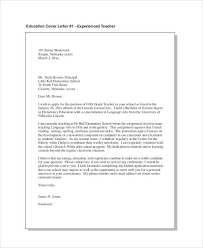 teacher cover letter exle 12 free