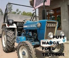 putt warga ford tractor desiments