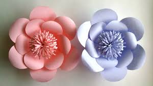 Make Flower With Paper How To Make Paper Flowers Paper Flower Tutorial Step By Step