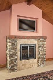 mounting flat screen tv above fireplace this old fashion fireplace adds modern and traditional looks together