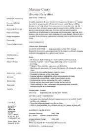 Sample Advertising Account Executive Cover Letter Advertising Executive Resume Yuriewalter Me