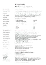 Stock Broker Sample Resume | Ophion.co
