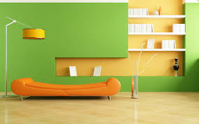 Purple And Green Living Room Lime Green Orange Color Design For Drawing Room Home Combo