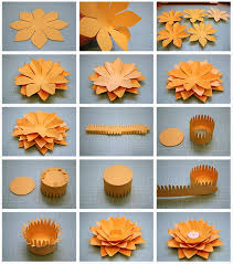 How To Make A Lotus Flower Out Of Paper Bits Of Paper Lotus Flower Tealight Candle Holder