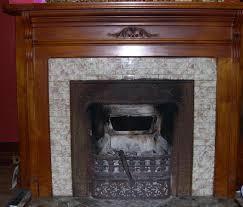 original coal fireplace