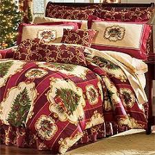 Amazon.com: Christmas Tree Holiday Bedding Set 4pc Comforter Bed ... & Christmas Tree Holiday Bedding Set 4pc Comforter Bed Set King Size Adamdwight.com