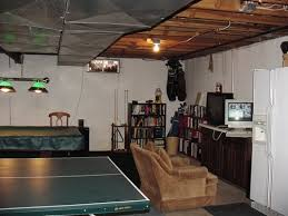 Decorate Unfinished Basement Decorated Unfinished Basement Photo By