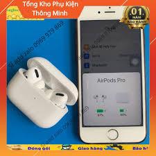 Tai nghe bluetooth AIRPODS PRO Bản mới nhất - Xuyên âm - Chống ồn - Cảm  biến lực - Tai nghe Bluetooth nhét Tai