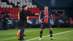 شاهد... سطو مسلح يخرج دي ماريا من مباراة باريس سان جيرمان ونانت