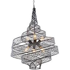 varaluz flow light steel ore wrapped pendantpsl  the home