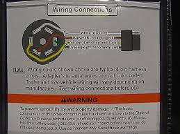 trailer wiring adapter 7 rv blade round to 4 wire flat 3 trailer wiring adapter 7 rv blade round to 4 wire flat 3 extension cord towing