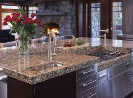 Concrete Countertops Cost  Compare Granite And Other Materials Types Countertops Prices