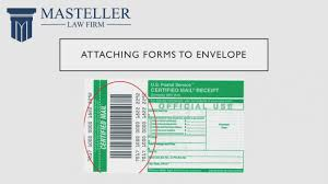 how to send a certified letter return receipt requested you