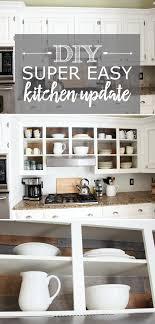 Easy Kitchen Update Diy
