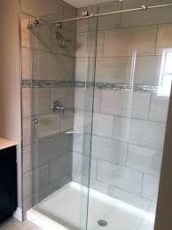 types of shower door glass rollers