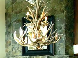 white antler chandelier modern faux canada uk
