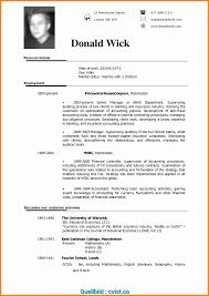 Komplex British Cv Formatuk Format Resume Beautiful Cv Template