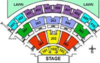Molson Amphitheatre Seating Chart Molson Amphitheatre