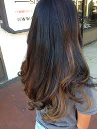 Baylage Highlights On Black Hair My