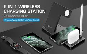 WAITIEE Updated Version,Wireless Charger 5 in 1,Qi ... - Amazon.com