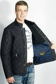 Buy your brilliant Barbour Powell Mens Navy Quilted Jacket from ... & Barbour Powell Navy Mens Quilted Jacket MQU0281NY71 Adamdwight.com