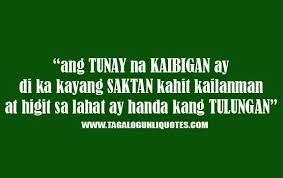 Tagalog Quotes About Love And Friendship Custom Tagalog Quotes About Love And Friendship Mesmerizing Quotes About