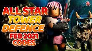 We'll keep this page updated with new roblox all star tower defense codes when they become available. Roblox All Star Tower Defense Codes March 2021