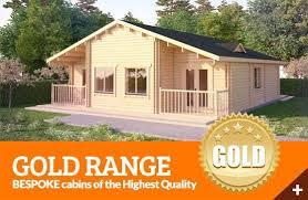 log cabins gold