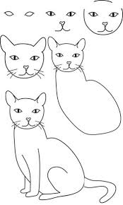 How To Draw A Cat Pinteres