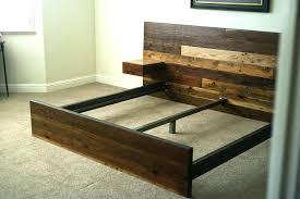 king bed frame wood. Wood King Bed Frame Reclaimed . F