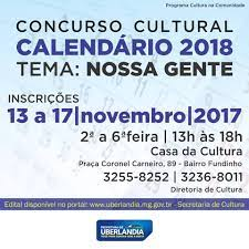 Que tal ver a sua obra no calendário da... - Prefeitura de Uberlândia