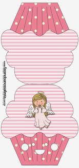 free printable cupcake shaped invitation or card