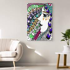 Designer Wall Art Boho Spirited Soul Designer Canvas Wall Art Mind Body Spirit