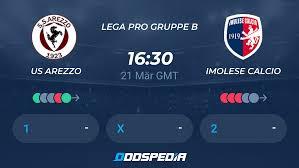 US Arezzo - Imolese Calcio » Live Stream & Ticker + Quoten, Statistiken,  News