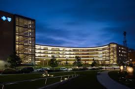 Blue Cross Blue Shield Building Lights Wellmark Blue Cross And Blue Shield Headquarters And